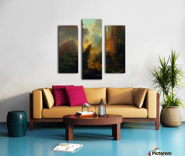 Fierce Landscape Canvas print