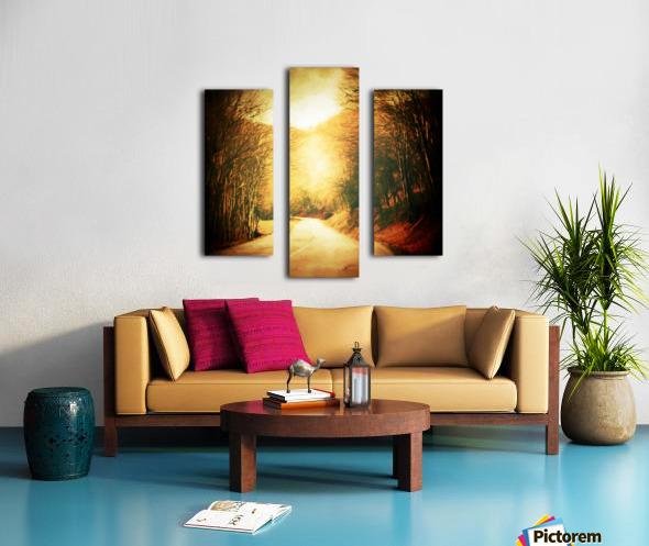 Autumnal Landscape 2 Canvas print