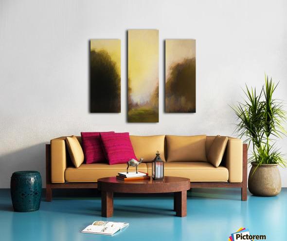 Impressionist landscape Canvas print