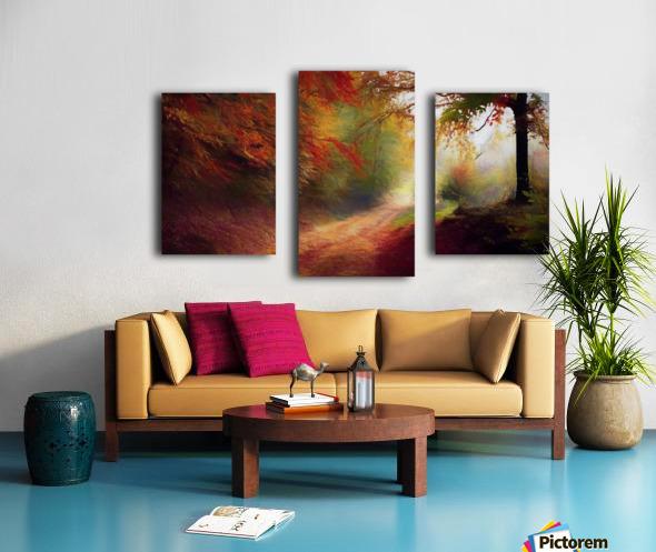 Autumnal Landscape 5 Canvas print