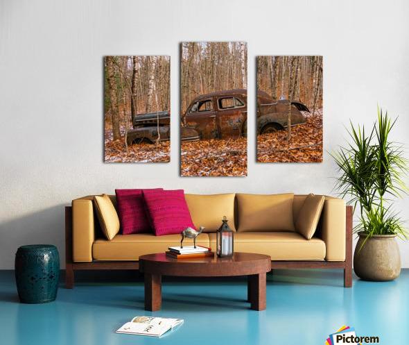 Chevrolet Fleetline 4 Canvas print