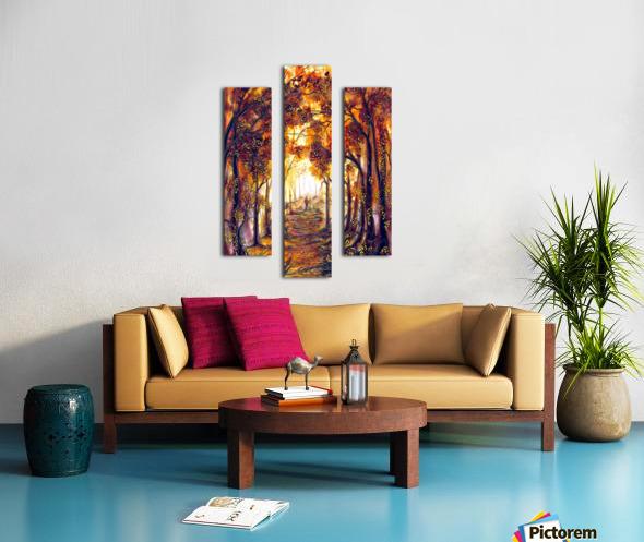 Autumn Memories Canvas print