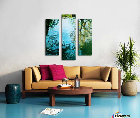 Nature reflections Canvas print
