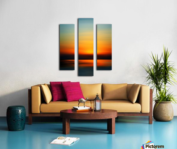 Abstract Landscape 9 Canvas print