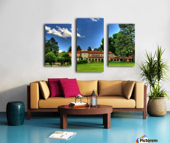 Villa Philmonte Canvas print