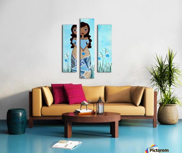 Wish Girl Canvas print