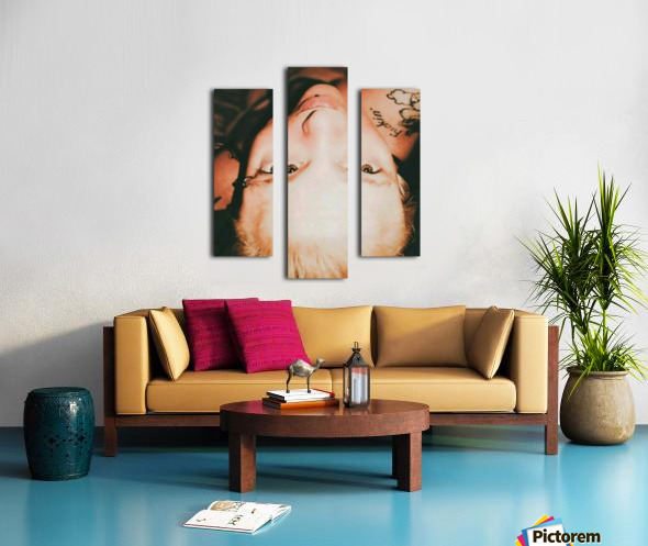 View from another angle  Canvas print