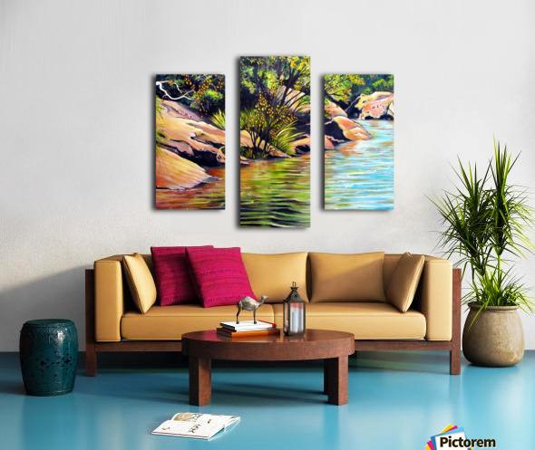 Jellybean Pool Australia Canvas print
