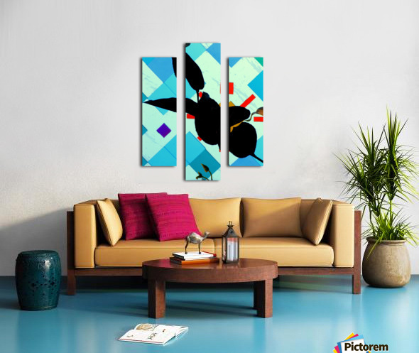 Hello 1 Canvas print