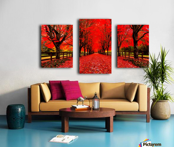 Red Carpet Canvas print