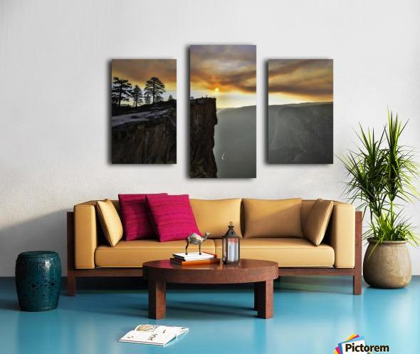 conquered Canvas print