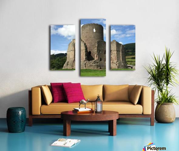 Treetower-Castle-Wales-1 Canvas print