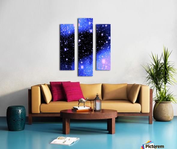The Blue Realm Canvas print