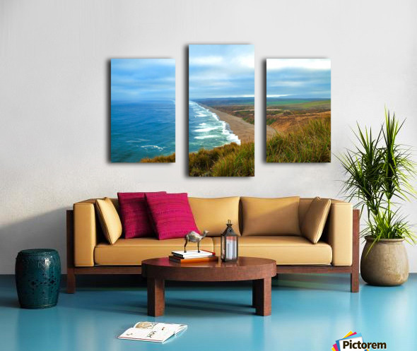 End Of World Canvas print