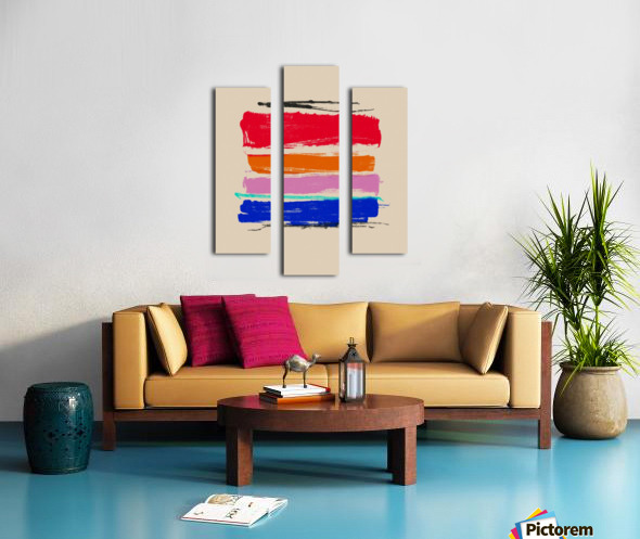 Abstract Composition 782 Canvas print