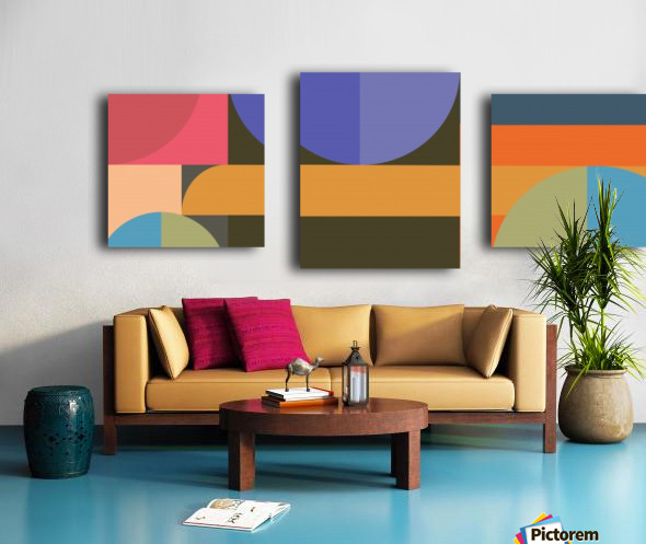 Abstract Composition 783 Canvas print