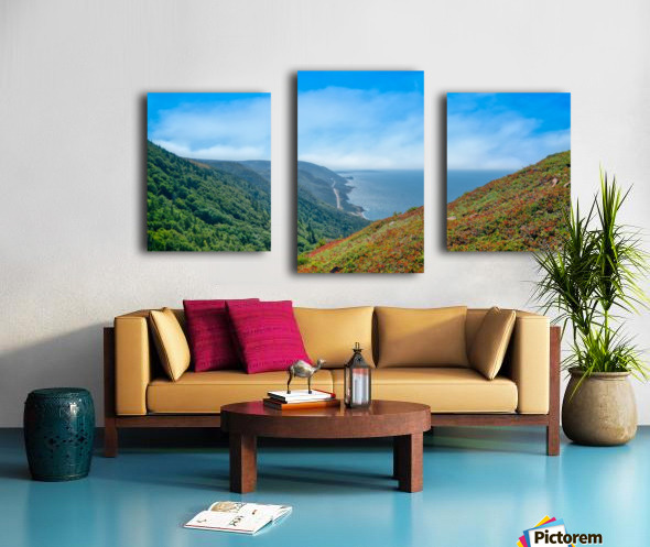 Hikers Reward Canvas print