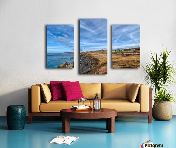 A Drive Home Canvas print