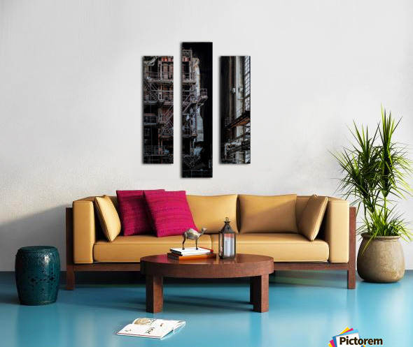 Abandoned Blade Runner Factory Canvas print