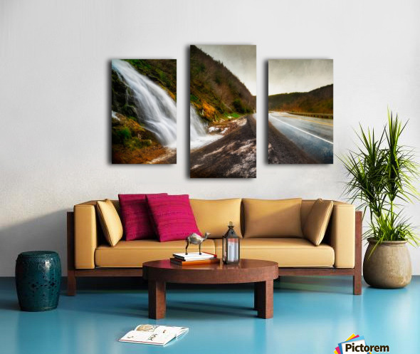 Niagara on the French Canvas print