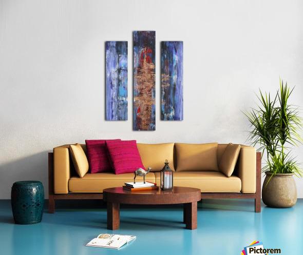 Ingot Canvas print
