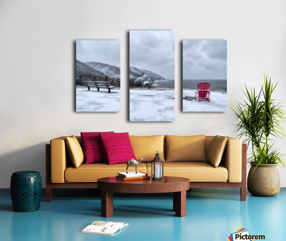 Winter in the CBHNP Canvas print