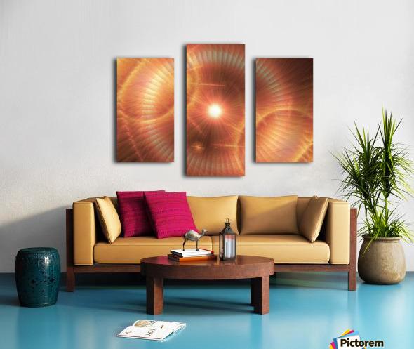 Sun Storm 1 Canvas print