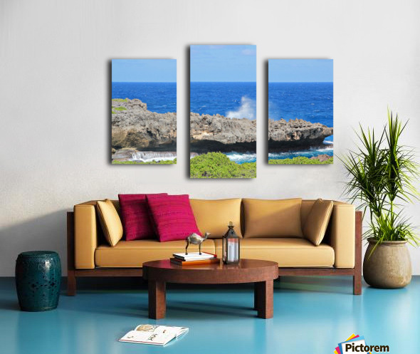 Rocky Ledge Canvas print