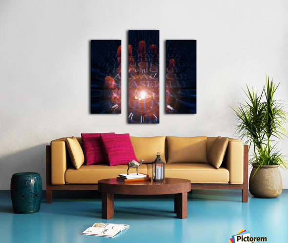 Maker of Time Canvas print