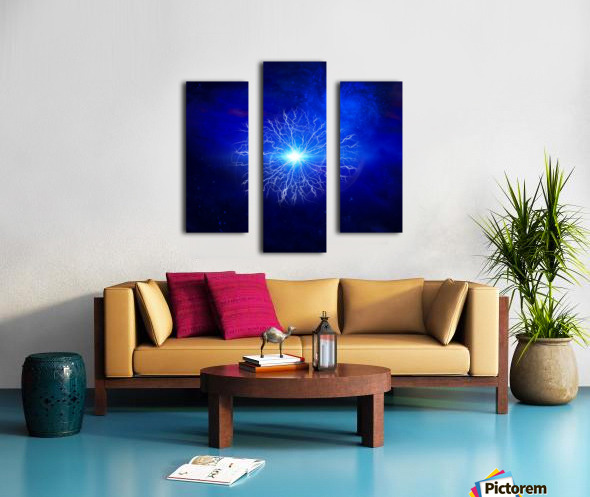 Pure Energy Canvas print