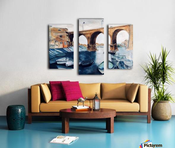 Marseille Impression sur toile