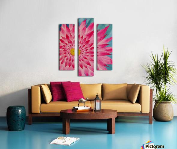 Lomi Lomi Love Canvas print
