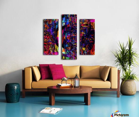 Fargo coloris  Canvas print