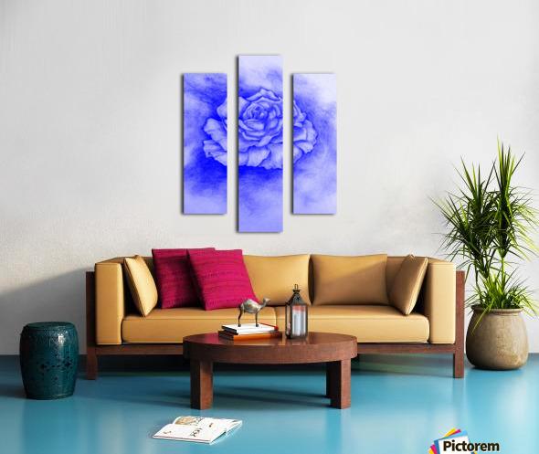Celestial Rose Canvas print