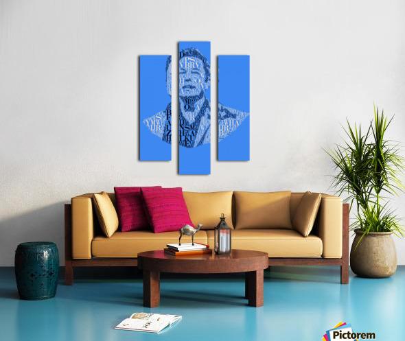 Elon Musk Canvas print