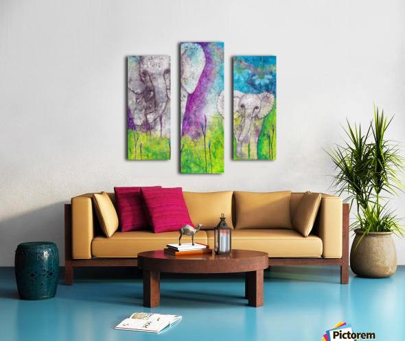 Josephine & Lily Canvas print