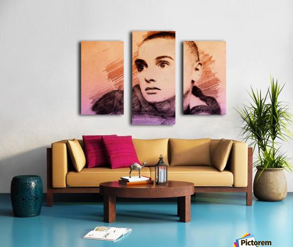 Sinéad OConnor Canvas print