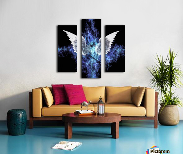 Wings Painting Canvas print