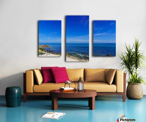 Caribbean Blues at Grand Cayman Canvas print