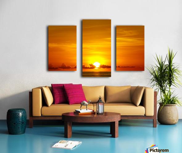 Cayman Sky Art Canvas print