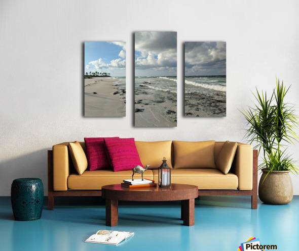 Eleuthera Deserted Beach Canvas print