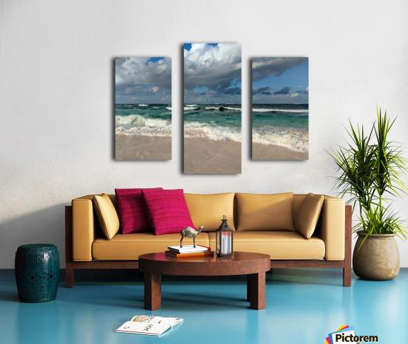 Eleuthera Endless Waves Canvas print