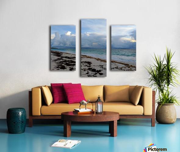 Eleuthera Stormy Horizon Canvas print