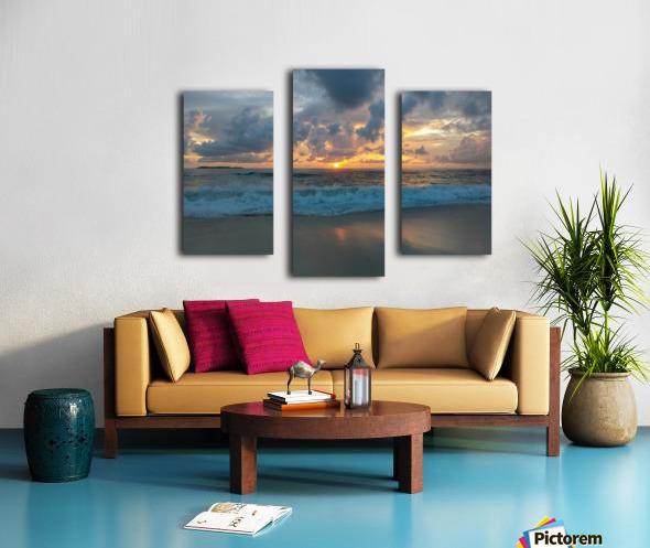 Eleuthera Morning on the beach Canvas print