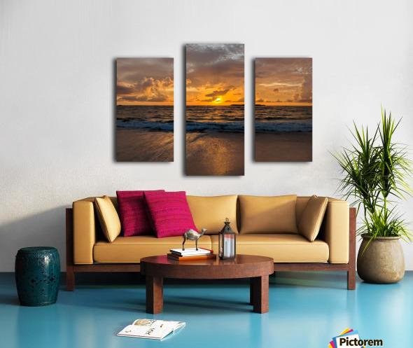 Eleuthera Golden Morning Canvas print