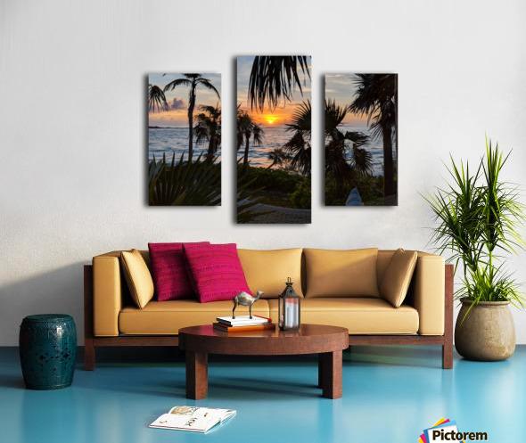 Eleuthera Sunrise on the Hammock Canvas print