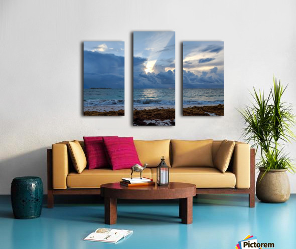 Eleuthera Sun ray Canvas print