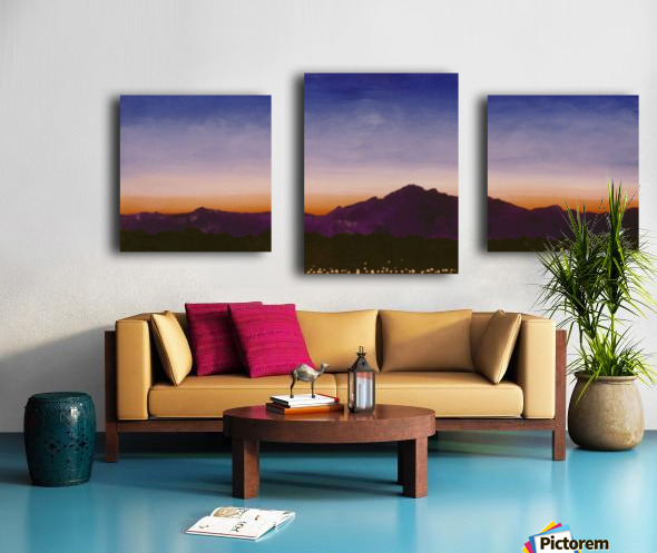 Ridgecrest Canvas print