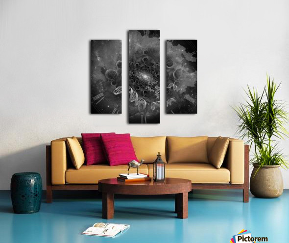 DNA From Space Canvas print