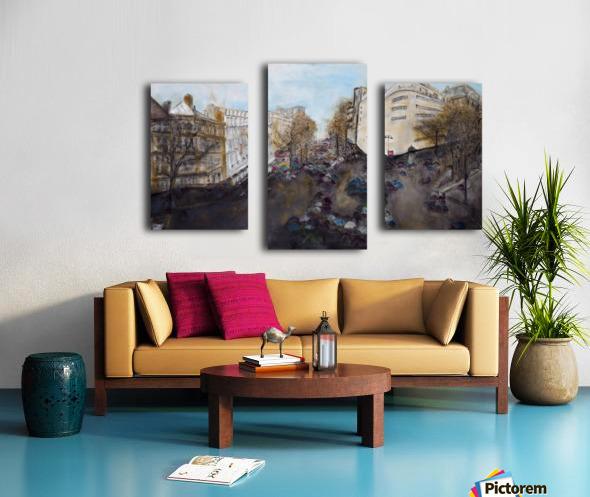 Buildings_High_Res Impression sur toile